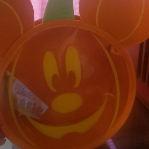 Never used mickey mouse Halloween bag